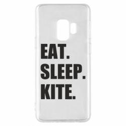 Чохол для Samsung S9 Eat, sleep, kite