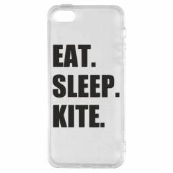 Чохол для iphone 5/5S/SE Eat, sleep, kite