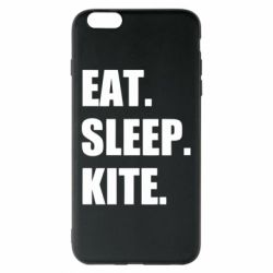 Чохол для iPhone 6 Plus/6S Plus Eat, sleep, kite