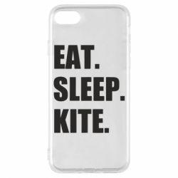 Чохол для iPhone 7 Eat, sleep, kite