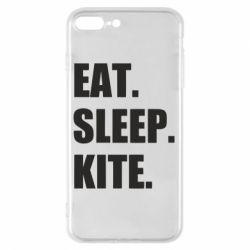 Чохол для iPhone 7 Plus Eat, sleep, kite
