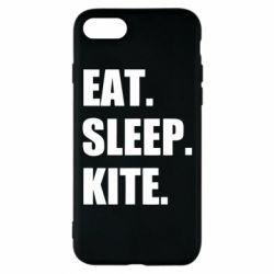 Чохол для iPhone 8 Eat, sleep, kite