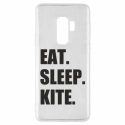 Чохол для Samsung S9+ Eat, sleep, kite