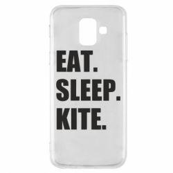 Чохол для Samsung A6 2018 Eat, sleep, kite