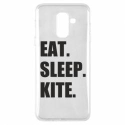 Чохол для Samsung A6+ 2018 Eat, sleep, kite
