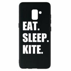Чохол для Samsung A8+ 2018 Eat, sleep, kite