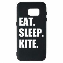 Чохол для Samsung S7 Eat, sleep, kite