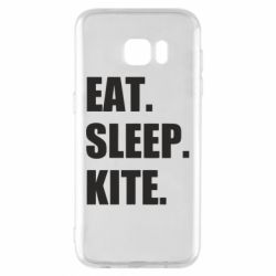 Чохол для Samsung S7 EDGE Eat, sleep, kite