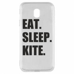 Чохол для Samsung J3 2017 Eat, sleep, kite
