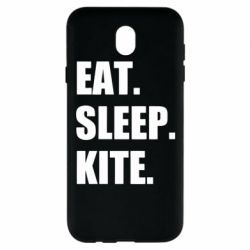 Чохол для Samsung J7 2017 Eat, sleep, kite