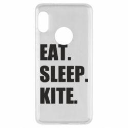 Чохол для Xiaomi Redmi Note 5 Eat, sleep, kite