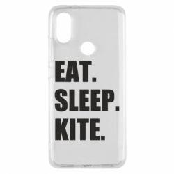 Чохол для Xiaomi Mi A2 Eat, sleep, kite