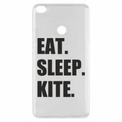 Чохол для Xiaomi Mi Max 2 Eat, sleep, kite