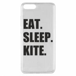 Чохол для Xiaomi Mi Note 3 Eat, sleep, kite