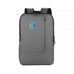 Рюкзак для ноутбука Eat, sleep, RAVE, repeat
