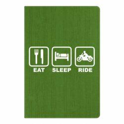 Блокнот А5 Eat, sleep, ride