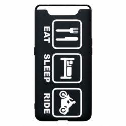 Чохол для Samsung A80 Eat, sleep, ride