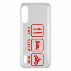 Чохол для Xiaomi Mi A3 Eat, sleep, ride