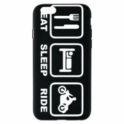 Чохол для iPhone 6/6S Eat, sleep, ride