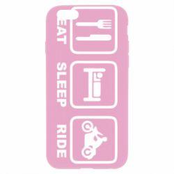 Чохол для iPhone 6 Plus/6S Plus Eat, sleep, ride