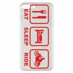 Чохол для iPhone 7 Plus Eat, sleep, ride