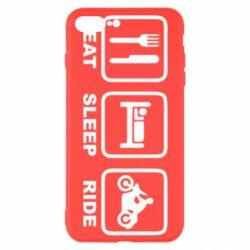 Чохол для iPhone 8 Plus Eat, sleep, ride