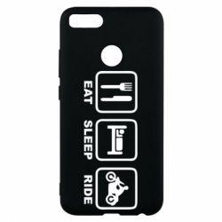 Чохол для Xiaomi Mi A1 Eat, sleep, ride
