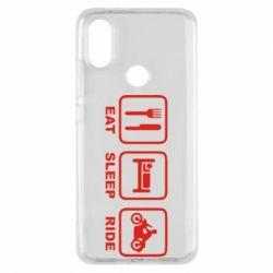 Чохол для Xiaomi Mi A2 Eat, sleep, ride