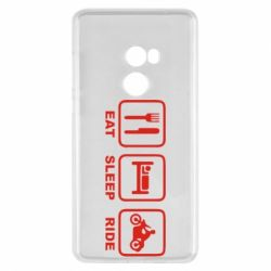 Чехол для Xiaomi Mi Mix 2 Eat, sleep, ride
