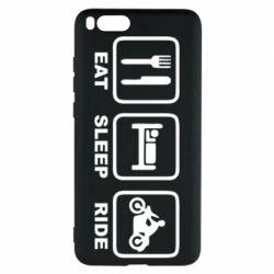 Чехол для Xiaomi Mi Note 3 Eat, sleep, ride