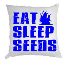 Подушка Eat Sleep Seeds (pirat bay)