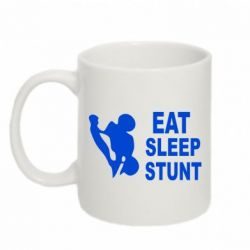 Кружка 320ml Eat Sleep Stunt - FatLine