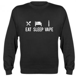 Реглан (свитшот) Eat, Sleep, Vape - FatLine