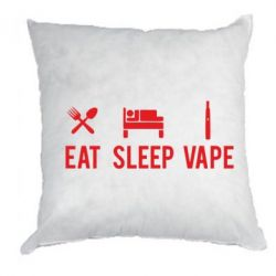 Подушка Eat, Sleep, Vape