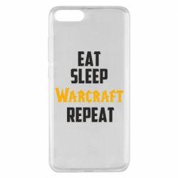 Чехол для Xiaomi Mi Note 3 Eat sleep Warcraft repeat