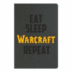 Блокнот А5 Eat sleep Warcraft repeat
