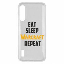 Чохол для Xiaomi Mi A3 Eat sleep Warcraft repeat