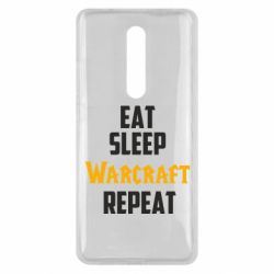 Чехол для Xiaomi Mi9T Eat sleep Warcraft repeat