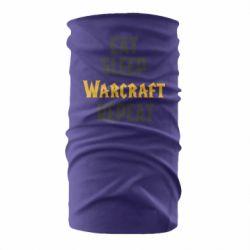 Бандана-труба Eat sleep Warcraft repeat