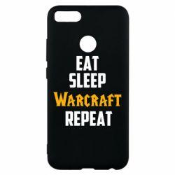 Чехол для Xiaomi Mi A1 Eat sleep Warcraft repeat