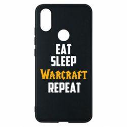 Чехол для Xiaomi Mi A2 Eat sleep Warcraft repeat