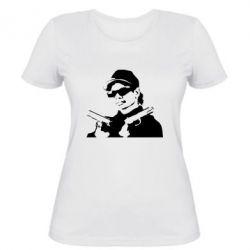 Женская футболка Eazy-E Gunz - FatLine
