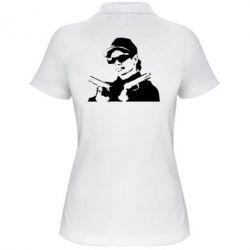 Женская футболка поло Eazy-E Gunz - FatLine