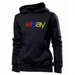 Женская толстовка Ebay - FatLine