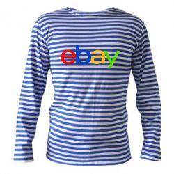 Тельняшка с длинным рукавом Ebay - FatLine