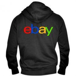 Мужская толстовка на молнии Ebay - FatLine