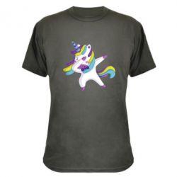 Камуфляжна футболка Єдиноріг робить деббінг