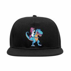 Снепбек Єдиноріг і динозавр