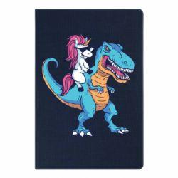 Блокнот А5 Єдиноріг і динозавр