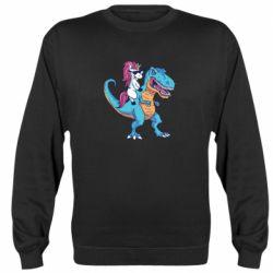 Реглан (світшот) Єдиноріг і динозавр
